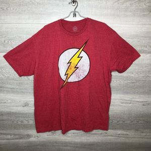 DC Comics The Flash Big Bang Theory Sheldon Tee 2X
